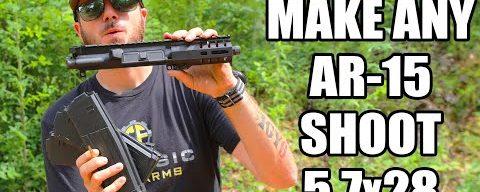 Turn Any AR-15 Into A 5.7×28 PDW (CMMG Mk57 Banshee Upper)