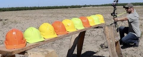 how many hard hats it takes to stop an Arrow ?