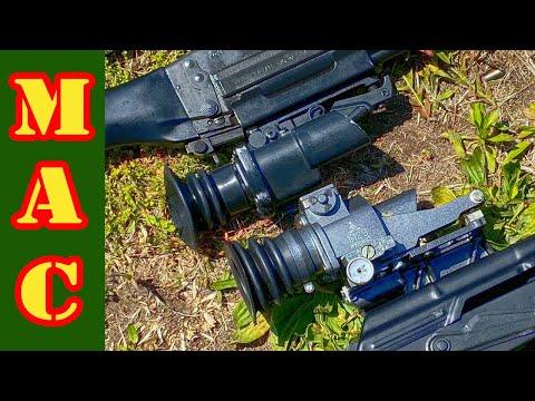 Cold War Standoff: British S.U.I.T sight vs. Soviet 1P29 sight