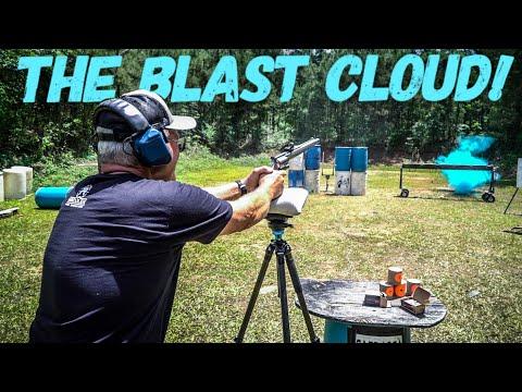 THE BLAST CLOUD! (Safe EXPLODING Targets)