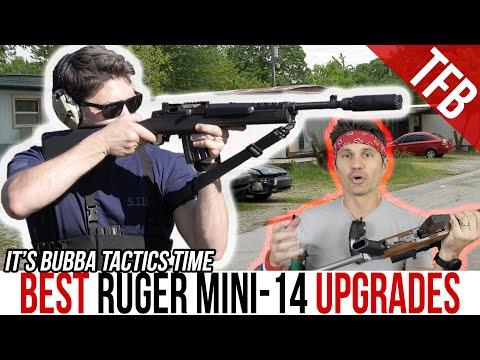 BUBBA TACTICS: 3 Must-Have Accessories for a Ruger Mini-14 or Mini-30