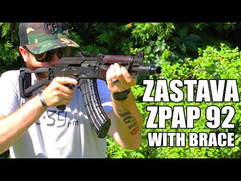 The New Zastava ZPAP 92 Alpha Pistol