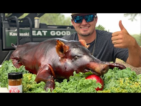 How To SMOKE A WHOLE PIG! Buy Clean Cook