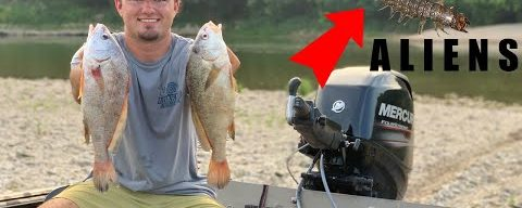 Fishing With ALIENS! {Catch Clean Cook} Poor Mans Lobster