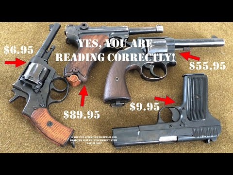 HOW TO PAY 1990s PRICING ON MILITARY SURPLUS FIREARMS! THEY DON'T WANT YOU TO KNOW ABOUT THIS!