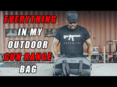 Everything In My Outdoor Gun Range Bag