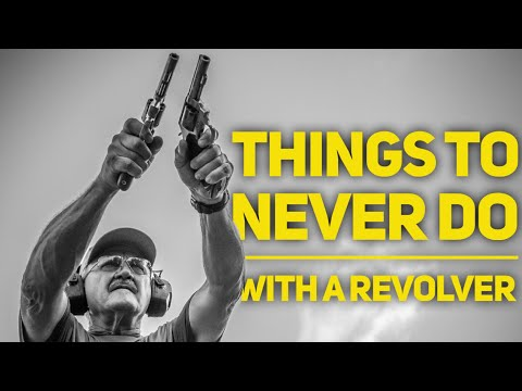 NEVER DO THIS….Revolver Edition