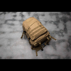 Tactical Backpack - 3 Pocket - 4 Colors Available (Color: Tan)