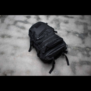 Tactical Backpack - 3 Pocket - 4 Colors Available (Color: Black)