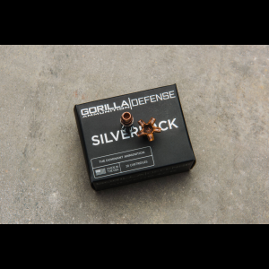 Gorilla Silverback 9MM 135gr, Self Defense, 20 Round Box - Subsonic