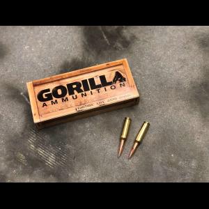 Gorilla Ammunition 6.5 Creedmoor 140gr Berger Hybrid Target - 20 Round Box