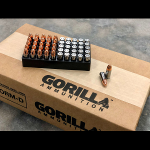 Gorilla Training, 45ACP 230gr Pistol Ammunition - 50 Round Box
