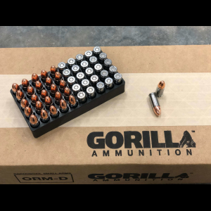 Gorilla Training, 9mm 115gr Pistol Ammunition - 50 Round Box