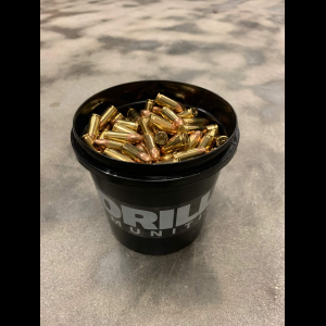 Gorilla Bulk Ammunition 300 Round Bucket Gorilla Training 9mm 115gr FMJ