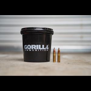 Gorilla Ammunition .300 AAC BlackOut 110gr Nosler Varmageddon - 160 Round Bucket