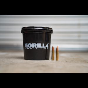 Gorilla 300 AAC BlackOut Subsonic 220gr Sierra MatchKing - 160 Round Bucket