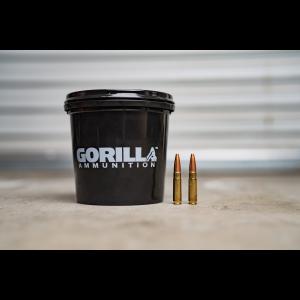 Gorilla Ammunition .300 BlackOut 115gr, Controlled Chaos, Pig Punisher - 160 Round Bucket