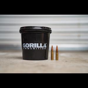 Gorilla Ammunition .300 AAC BlackOut 125gr Sierra MatchKing - 160 Round Bucket