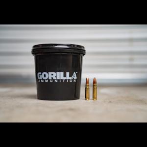 Gorilla Ammunition 300 Blackout 110gr Varminter Hollow Point - 160 Round Bucket