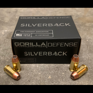 Gorilla Self Defense 380ACP 90gr, Speer Gold Dot, 20 Round Box