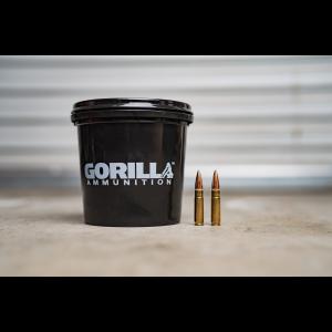 Gorilla Ammunition .300 AAC BlackOut, 147gr FMJ - 160 Round Bucket