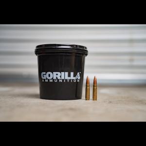 Gorilla 300 AAC BlackOut Subsonic 215gr Berger Hybrid Target - 160 Round Bucket