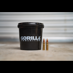 Gorilla 300 AAC BlackOut 150gr Barnes Bonded Pointed Soft Point - 160 Round Bucket