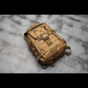 Tactical Backpack - 6 Pocket - 4 Colors Available (Color: Tan)