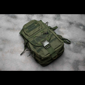 Tactical Backpack - 6 Pocket - 4 Colors Available (Color: Green)
