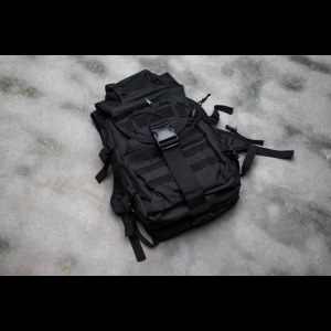 Tactical Backpack - 6 Pocket - 4 Colors Available (Color: Black)